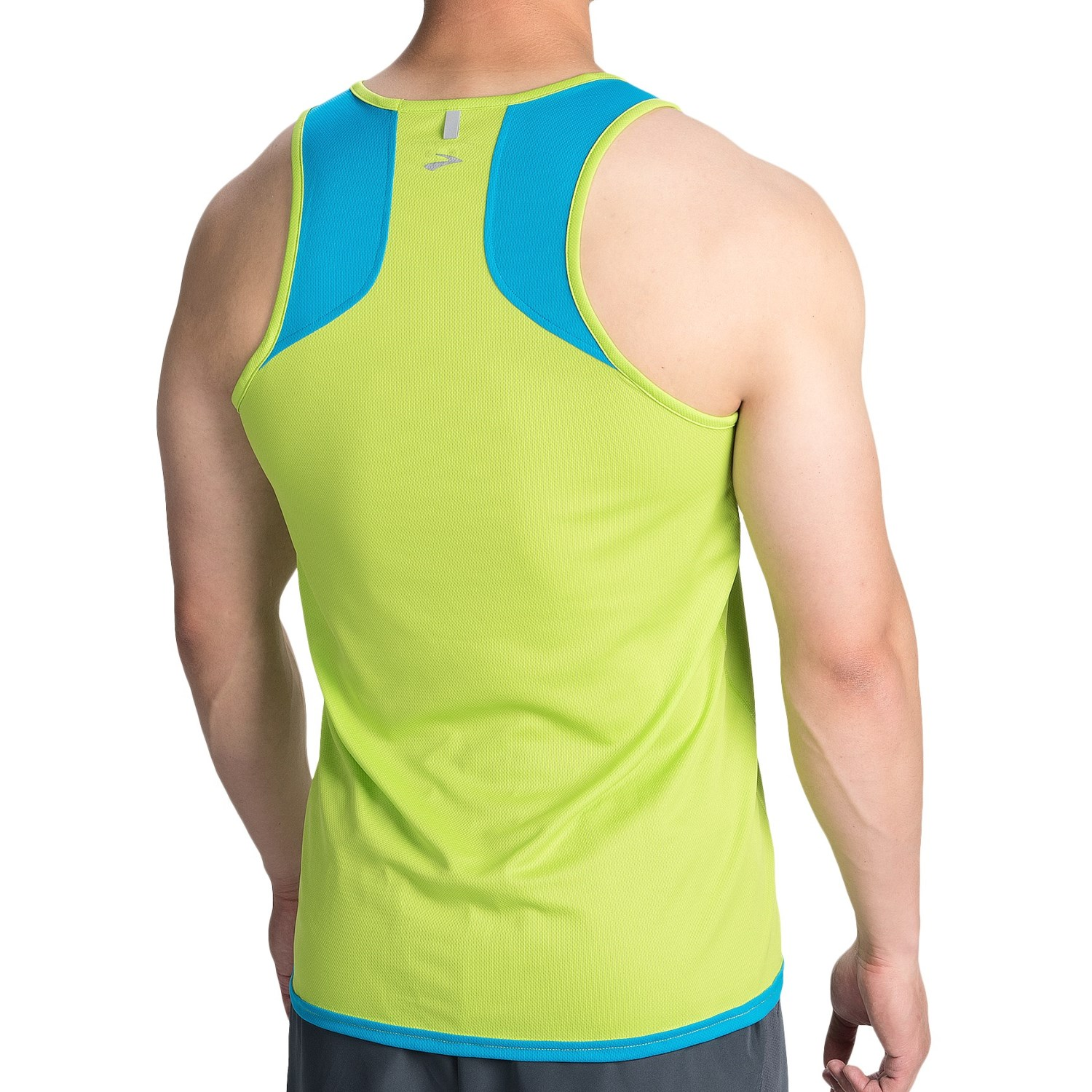 Brooks Running Men's Ghost Tank Heather Black