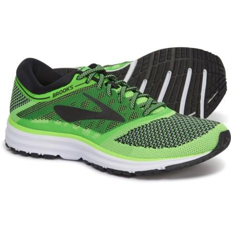 94c2e6d3b40 Brooks Revel Running Shoes (For Men) in Green Black White