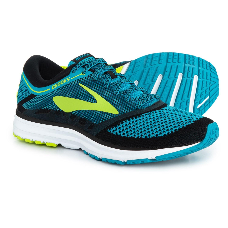 6af2e856cf3 Brooks Revel Running Shoes (For Men) in Methyl Blue Lime Popsicle Black