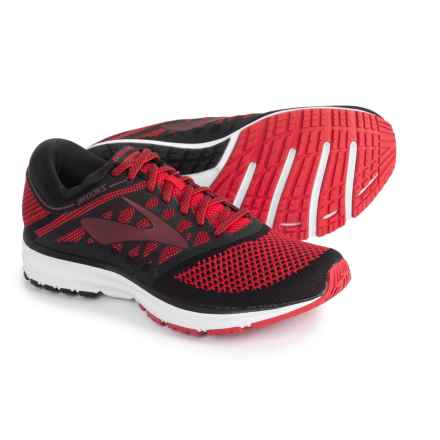Brooks Revel Running Shoes (For Men) in Toreador/Tawny Port/Black - Closeouts