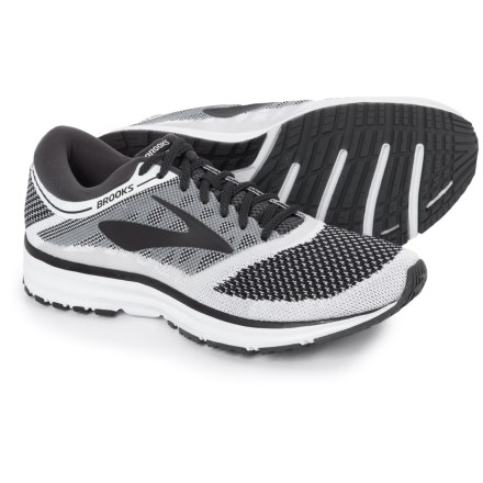 17757e9001c Brooks Revel Running Shoes (For Men) in White Anthracite Black - Closeouts