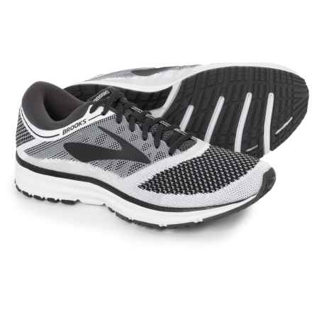 Brooks Revel Running Shoes (For Men) in White/Anthracite/Black - Closeouts