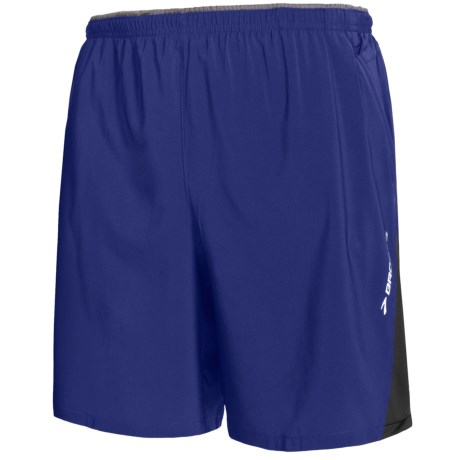 Brooks Rogue Runner III Shorts - Built-In Inner Briefs (For Men) in Ultramarine/Black