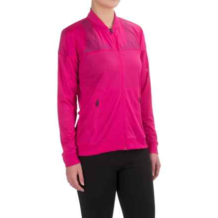 Brooks Run-Thru Jacket (For Women) in Bloom - Closeouts