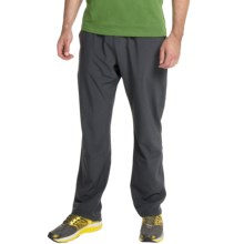 Brooks Rush Running Pants (For Men) in Heather Black - Closeouts