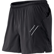 Brooks Sherpa 2-in-1 Shorts - Internal Liner (For Men) in Black - Closeouts