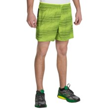 "Brooks Sherpa 5"" Shorts - Built-In Brief (For Men) in Nightlife Nano - Closeouts"