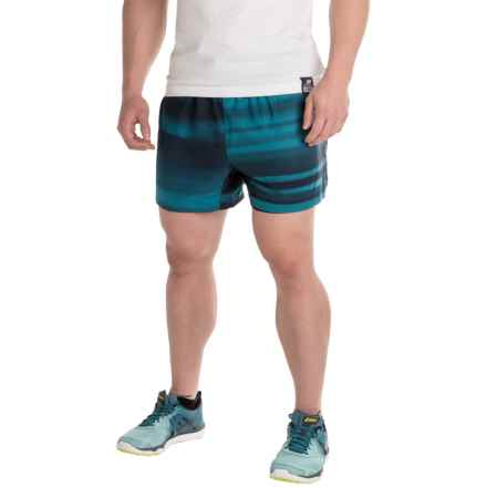 "Brooks Sherpa 5"" Shorts - Built-In Brief (For Men) in River Blur - Closeouts"