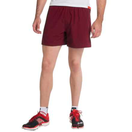 """Brooks Sherpa 5"""" Shorts - Built-In Brief (For Men) in Root - Closeouts"""