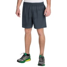 "Brooks Sherpa 7"" Shorts - Built-In Brief (For Men) in Asphalt Lightspeed - Closeouts"