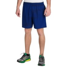 "Brooks Sherpa 7"" Shorts - Built-In Brief (For Men) in Marathon Lightspeed - Closeouts"