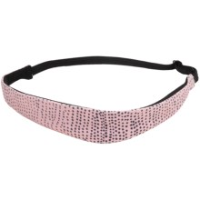 Brooks Slim Running Headband (For Women) in Petal Mist Print - Closeouts