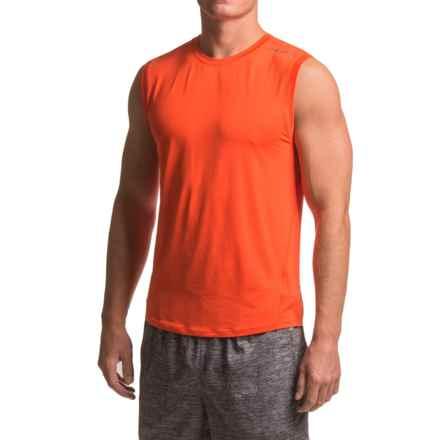 Brooks Steady Running Shirt - UPF 30+, Sleeveless (For Men) in Desert - Closeouts