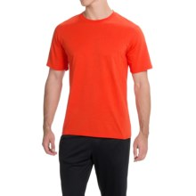 Brooks Steady Running T-Shirt - UPF 30+, Crew Neck, Short Sleeve (For Men) in Desert - Closeouts