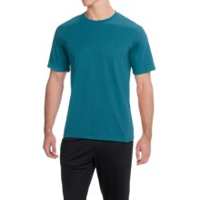 Brooks Steady Running T-Shirt - UPF 30+, Crew Neck, Short Sleeve (For Men) in River - Closeouts