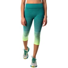 Brooks Streaker Capris (For Women) in Nightlife/Kale - Closeouts