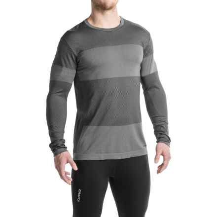 Brooks Streaker Running Shirt - Long Sleeve (For Men) in Asphalt - Closeouts