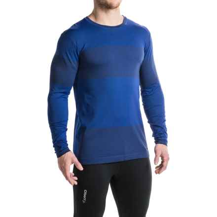 Brooks Streaker Running Shirt - Long Sleeve (For Men) in Basin - Closeouts