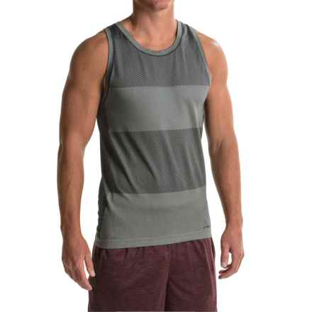 Brooks Streaker Running Singlet - Sleeveless (For Men) in Heather Black - Closeouts