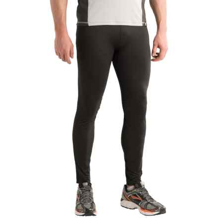 Brooks Streaker Tights (For Men) in Black - Closeouts