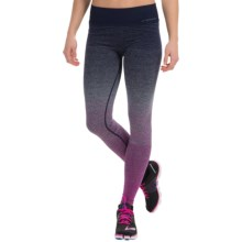 Brooks Streaker Tights (For Women) in Currant/Navy - Closeouts