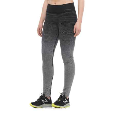 Brooks Streaker Tights (For Women) in Oxford/Black - Closeouts