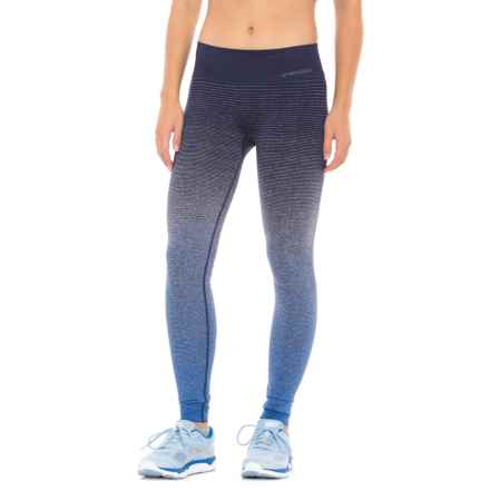 Brooks Streaker Tights (For Women) in Wave/Navy - Closeouts