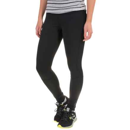 Brooks Threshold Tights (For Women) in Black - Closeouts