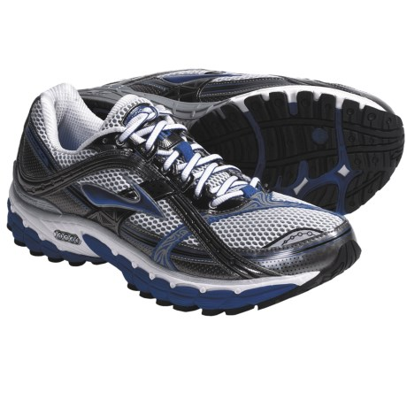Brooks Trance 10 Running Shoes (For Men) in Bright Navy/Metallic Pavement/White/Black