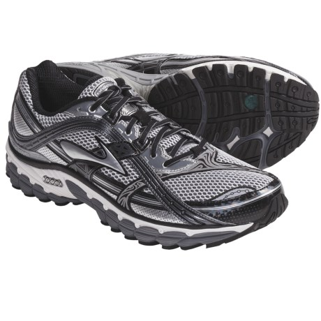 Brooks Trance 10 Running Shoes (For Men) in Pavement/Silver/Black/White