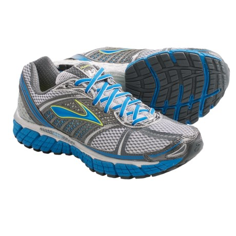 BROOKS TRANCE 12 RUNNING SHOES (For Women) in White/Silver/Black/Ombre Blue/Neptune/Sea