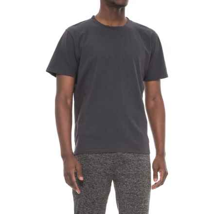 Brooks Trans Dry T-Shirt - Short Sleeve (For Men) in Asphalt - Closeouts
