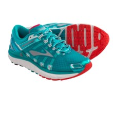 Brooks Transcend 2 Running Shoes (For Women) in Caribbean/Poppy/White - Closeouts