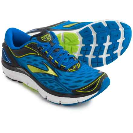 Brooks Transcend 3 Running Shoes (For Men) in Electric Brooks Blue/Lime Punch/Black - Closeouts