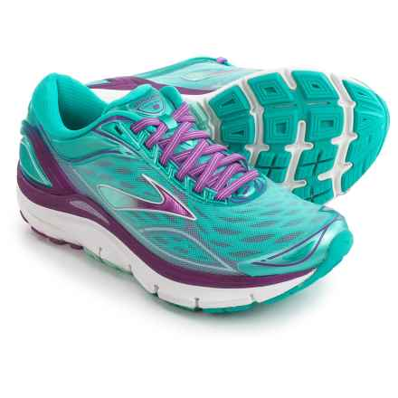 Brooks Transcend 3 Running Shoes (For Women) in Aruba Blue/Byzantium/Silver - Closeouts