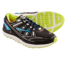 Brooks Transcend Running Shoes (For Men) in Black/Bachelor Button/Lime Punch - Closeouts