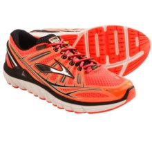 Brooks Transcend Running Shoes (For Men) in Fiery Coral/Silver/Black - Closeouts