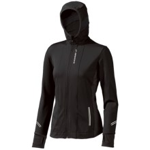 Brooks Utopia Thermal Hoodie II Jacket (For Women) in Black - Closeouts