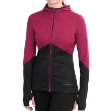 Brooks Utopia Thermal III Hoodie (For Women) in Jam/Black - Closeouts