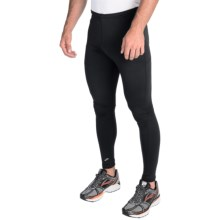 Brooks Vapor Dry 2 Running Tights (For Men) in Black - Closeouts