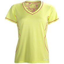 Brooks Versatile EZ T-Shirt - Short Sleeve (For Women) in Citrus - Closeouts