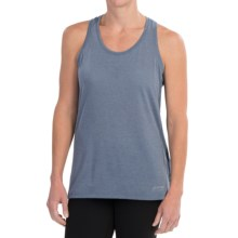 Brooks Versatile IV Printed Tank Top - Racerback (For Women) in Heather Storm - Closeouts