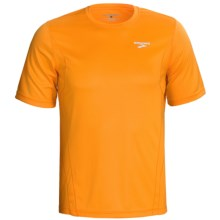 Brooks Versatile Shirt - Short Sleeve (For Men) in Atomic Orange - Closeouts