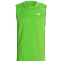 Brooks Versatile Shirt - Sleeveless (For Men) in Speed Green - Closeouts