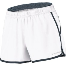 "Brooks Versatile Woven Shorts - 3.5"" (For Women) in White/Anthracite - Closeouts"