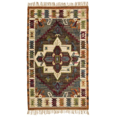 Image of Brown Area Rug - 5x8? Cotton