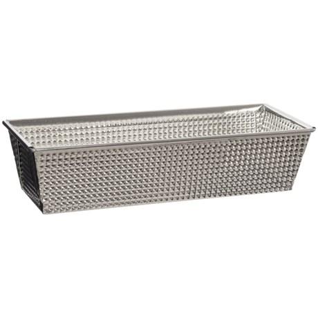 "Browne Essentials Stainless Steel Loaf Pan - 12"" in Stainless Steel"
