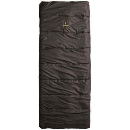 Browning 0°F Sawtooth Sleeping Bag - Rectangular in Clay - Closeouts