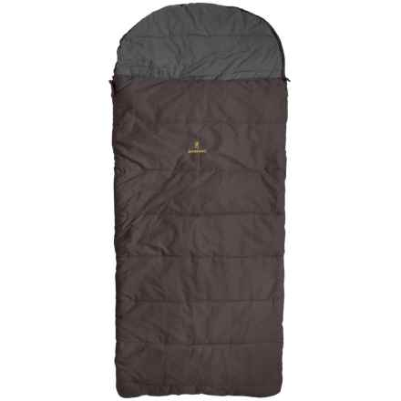 Browning -30°F Klondike Sleeping Bag - Long, Rectangular in Clay - Closeouts