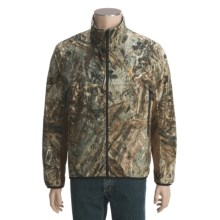 Browning 4X Microfleece Jacket (For Big and Tall Men) in Mossy Oak Duck Blind - Closeouts